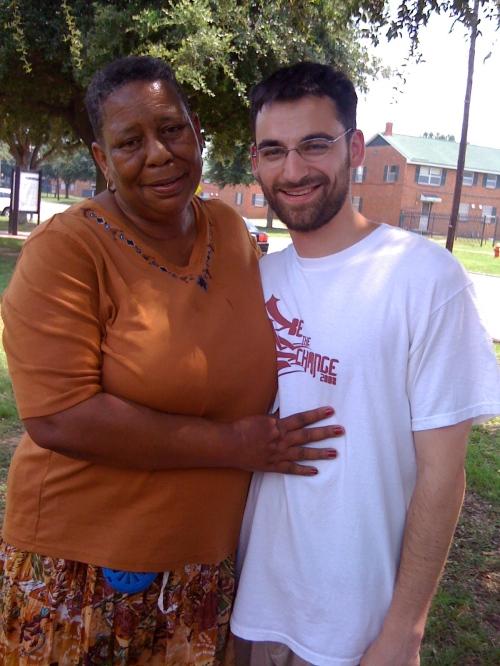 Joanne and me in Selma