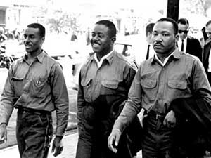 Fred Shuttlesworth. Ralph Abernathy. MLK. 1963