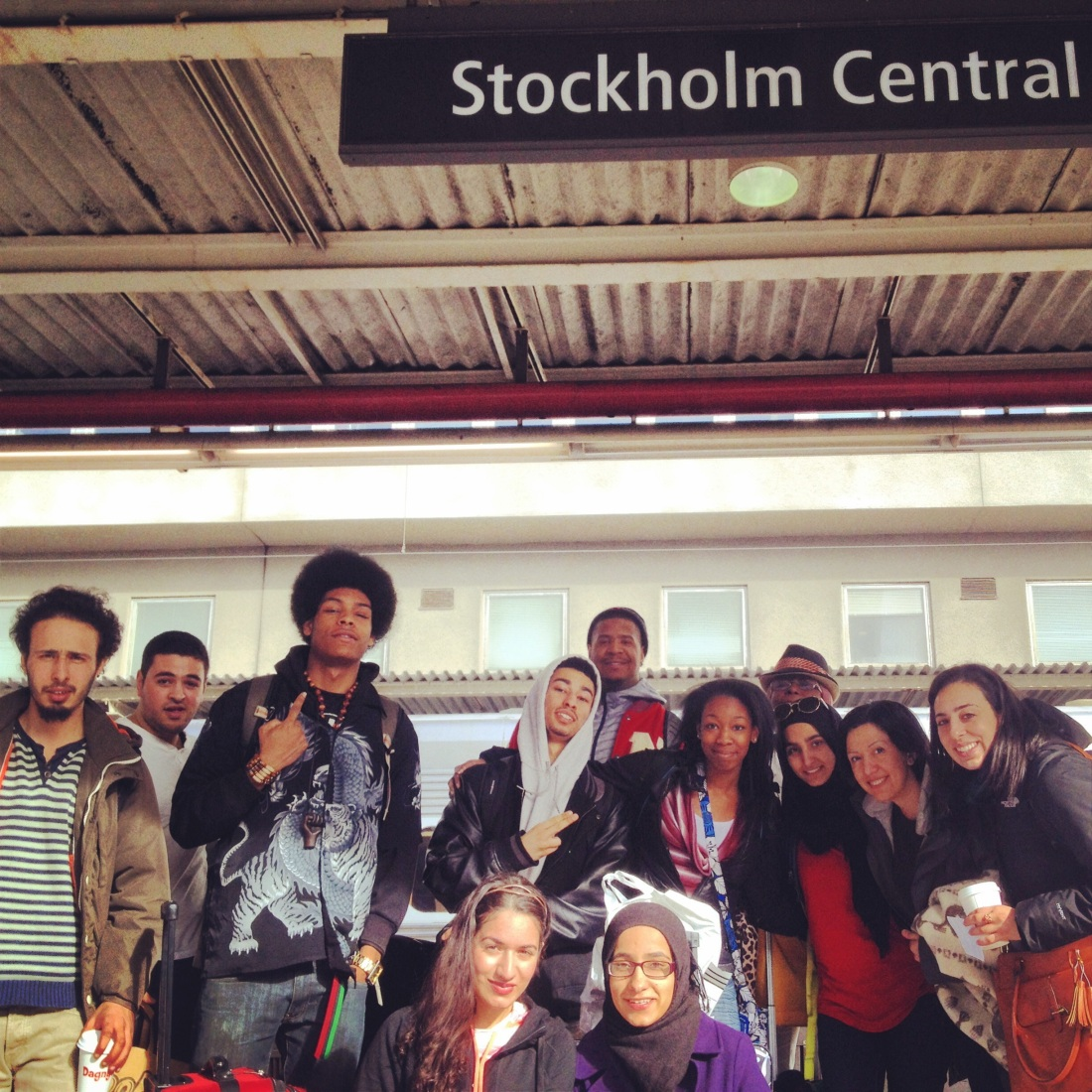 Streetposia Crew in Stockholm, Sweden