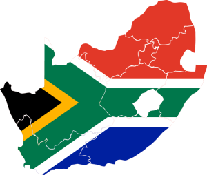 south-africa-flag-map