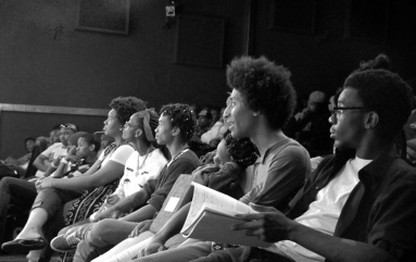 B n W audience angle