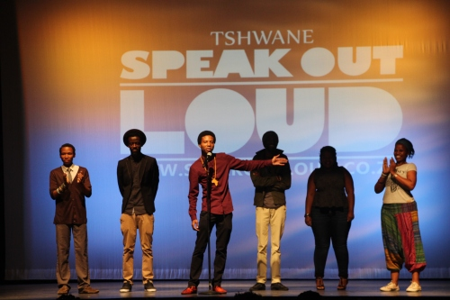 Tshwane Speak Out Loud at Kennedy Center