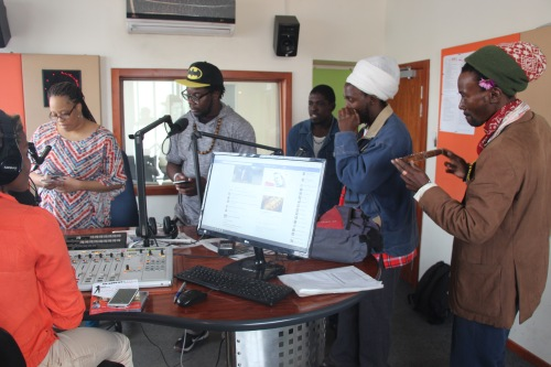 on air with Alex FM