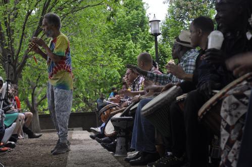 Malcolm X Park Drum Circle