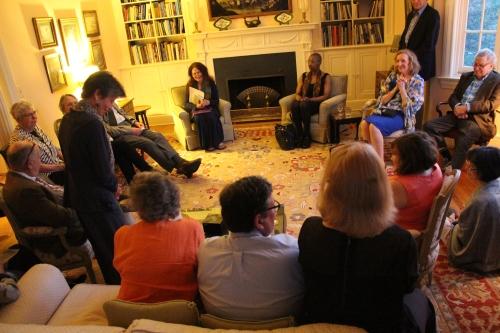 poetry salon with Jane Hirshfield